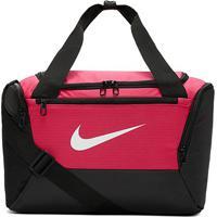 Bolsa Nike Brasilia Xs Duff 9.0 - 25 Litros - Unissex-Rosa+Preto