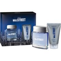 Kit Fiorucci Wall Street Deo Colonia 100Ml + Shampoo 3 Em 1 150Ml Masculino