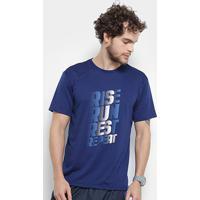 Camiseta Gonew Rise Run Masculina - Masculino-Marinho