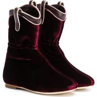 Malone Souliers Kids Daisy Smalls Boots - Vermelho