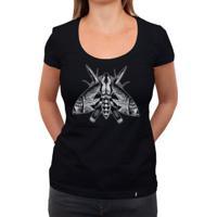 Mariposa - Camiseta Clássica Feminina