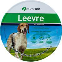 Coleira Ectoparasiticida Leevre Para Cães Com 1 Unidade De 32,75G Com 63Cm