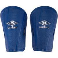 Caneleira De Futebol Umbro Block Ws - Adulto - Azul