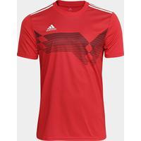 Camisa Adidas Campeon 19 Masculina - Masculino-Vermelho+Branco