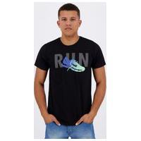 Camiseta Avia Run Preta