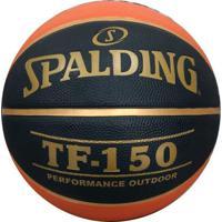 Bola De Basquete Spalding Tf 150 Laranja