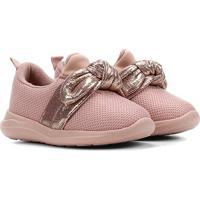 Sapato Infantil Molekinha Laço Feminino - Feminino-Rosa