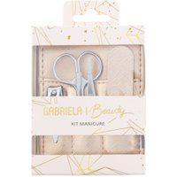 Kit Manicure Gabriela Beauty Cinco Peças Rosé Gold