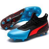Netshoes  Chuteira Campo Puma One 19.1 Fg Ag - Masculino 80ee39fcd9a71