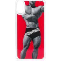 Dsquared2 Iphone X Smartphone Case - Vermelho