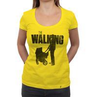 The Walking Dad - Camiseta Clássica Feminina