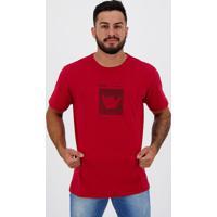 Camiseta Hang Loose Silk Logart Vermelha Mescla