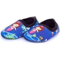 Sapato De Neoprene Fit Ufrog Sereia Infantil - Feminino-Azul