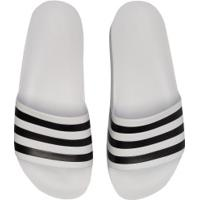 Chinelo Adidas Adilette Aqua Masculino - Branco/Preto