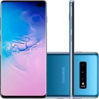 Usado Smartphone Samsung Galaxy S10 Plus 128Gb G975 Desbloqueado Azul (Excelente)