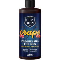 Progressiva Alisamento Masculino Felps Men Craps 500Ml