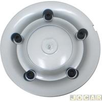 Calota Do Centro Da Roda Volkswagen - Emblemax - Gol/Santana 1994 Até 1998 - Roda De Alumínio - Cada (Unidade) - 30109/0