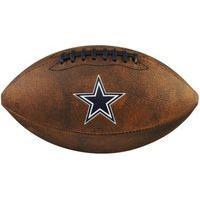 Bola De Futebol Americano Wilson Nfl Jr Cowboys Wtf1539Xbdl, Cor: Marrom/Azul Marinho, Tamanho: Único