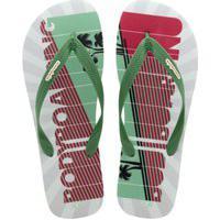 Chinelo Mandala Bodyboarding Verde