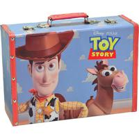 Maleta Toy Storyâ®- Azul Claro & Marrom Claro- 25X35Xmabruk