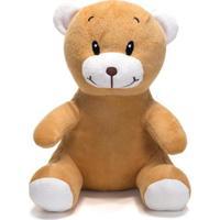 Bicho De Pelúcia Unik Toys 25 Cm Urso Caramelo - Kanui