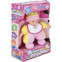 Boneca Meu Docinho Amarelo E Rosa - Cortex