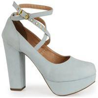 Sapato Boneca Modarpe Meia Pata Azul Claro M10