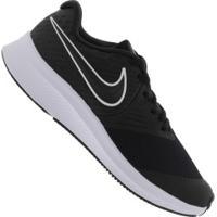 Tênis Nike Star Runner 2 Gs - Infantil - Preto/Branco