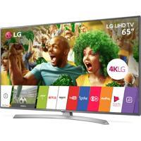 "Smart Tv Lg Ultra Hd 65"" Painel Ips 4K 65Uj6545 Com Hdr, Upscaler 4K,"