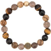 Nialaya Jewelry Multi-Stone Bracelet - Marrom