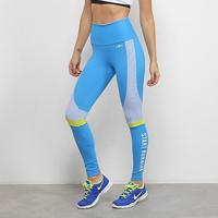 Calça Legging Alto Giro Athletic Start Running Feminina - Feminino-Azul