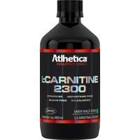 L-Carnitine 2300 Melhora O Condicionamento Físico E Auxilia No Aumento De Energia E Força Muscular - Maçã Verde - 480Ml - Atlhetica