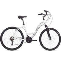 Bicicleta Aro Aero 26 Alumínio 21V Suspensão Urbana Branca