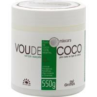 Máscara De Tratamento Griffus Vou De Coco 550G - Unissex-Incolor