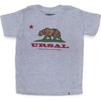 Ursal - Camiseta Clássica Infantil