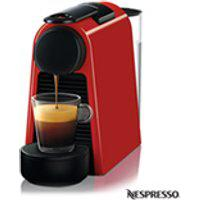 Maquina De Cafe Nespresso Essenza Mini Vermelha Para Cafe Espresso - D30