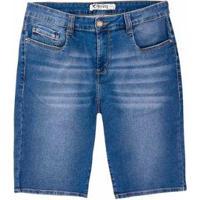 Bermuda Jeans Hering Slim Masculina - Masculino
