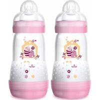 Mamadeira First Bottle - 320Ml - 2 Unidades - Menina - Mam