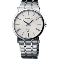 Relógio Seiko Masculino Skp391B1 B3Sx Quartz Pulseira E Caixa Aço Prateado Mostrador Prata