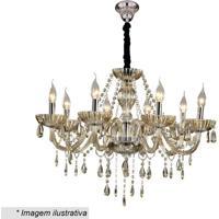 Lustre Glass- Dourado- 26X44X66Cm- Bivolt- Hhevvy