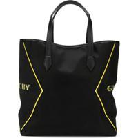 Givenchy Bolsa Tote Bond Com Estampa De Logo - Preto