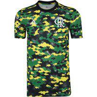 Camisa Pré Jogo Do Flamengo 21 Adidas - Masculina