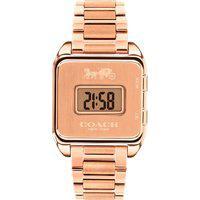 Relógio Coach Feminino Aço Rosé - 14503593