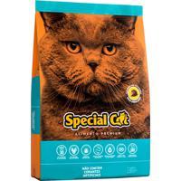 Ração Para Gatos Adultos Special Cat Sabor Peixe 5Un 3Kg