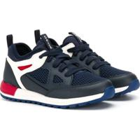 Geox Kids Lace Up Sneakers - Azul