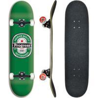 Skate Montado Profissional Progress - Pgs Cerveja 8.0
