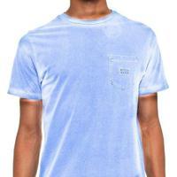 Camiseta Billabong Die Cut Iii Masculina - Masculino-Azul