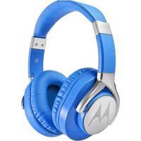 Fone De Ouvido Motorola Pulse Max Com Microfone Azul - Unissex-Azul