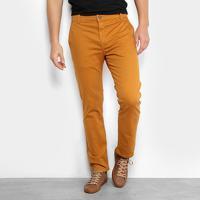 f3cb63add4 Netshoes  Calça Sarja Reta Ellus Color Power Straight Bolso Faca Masculina  - Masculino