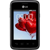 "Smartphone Lg L20 D100 - Dual Core 1Ghz - Wi-Fi - 3G - Tela De 3"" - Câmera De 2Mp - Android 4.4"